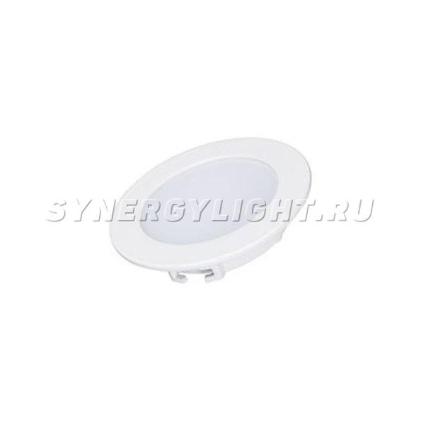 Тонкая круглая панель, 90×22мм, 5Вт, 350Лм, 3000К/4000К/6000К, Белый