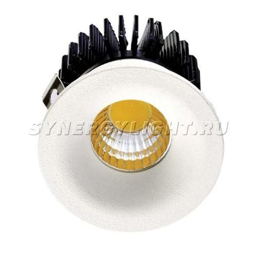 Встраиваемый светодиодный светильник, 45х42мм, 3Вт, 240Лм, 3000К, Белый
